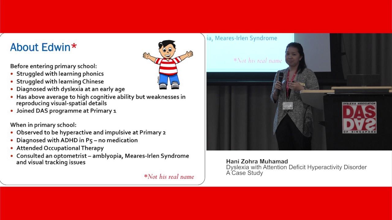Case study child dyslexia