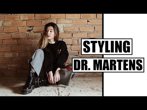 HOW I STYLE DR. MARTENS | 6 LOOKS | Miriam Sancho