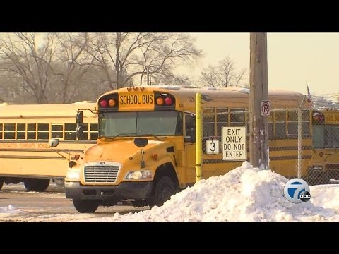 School buses late, kids wait in the cold