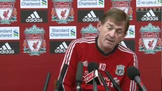 Kenny Dalglish previews Aston Villa game (short version)
