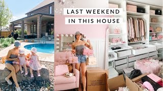 THE LAST WEEKEND IN THIS HOUSE!!! WERE MOVING VLOG💕