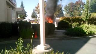 Roseville gas station Fire ,thurs,oct. 17th,