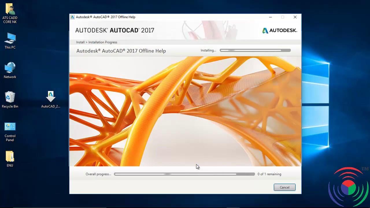 Autodesk Autocad  How To Install Offline Help Of Autodesk