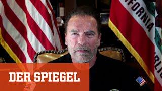 Video-Botschaft: Schwarzenegger vergleicht Kapitol-Sturm mit Reichspogromnacht