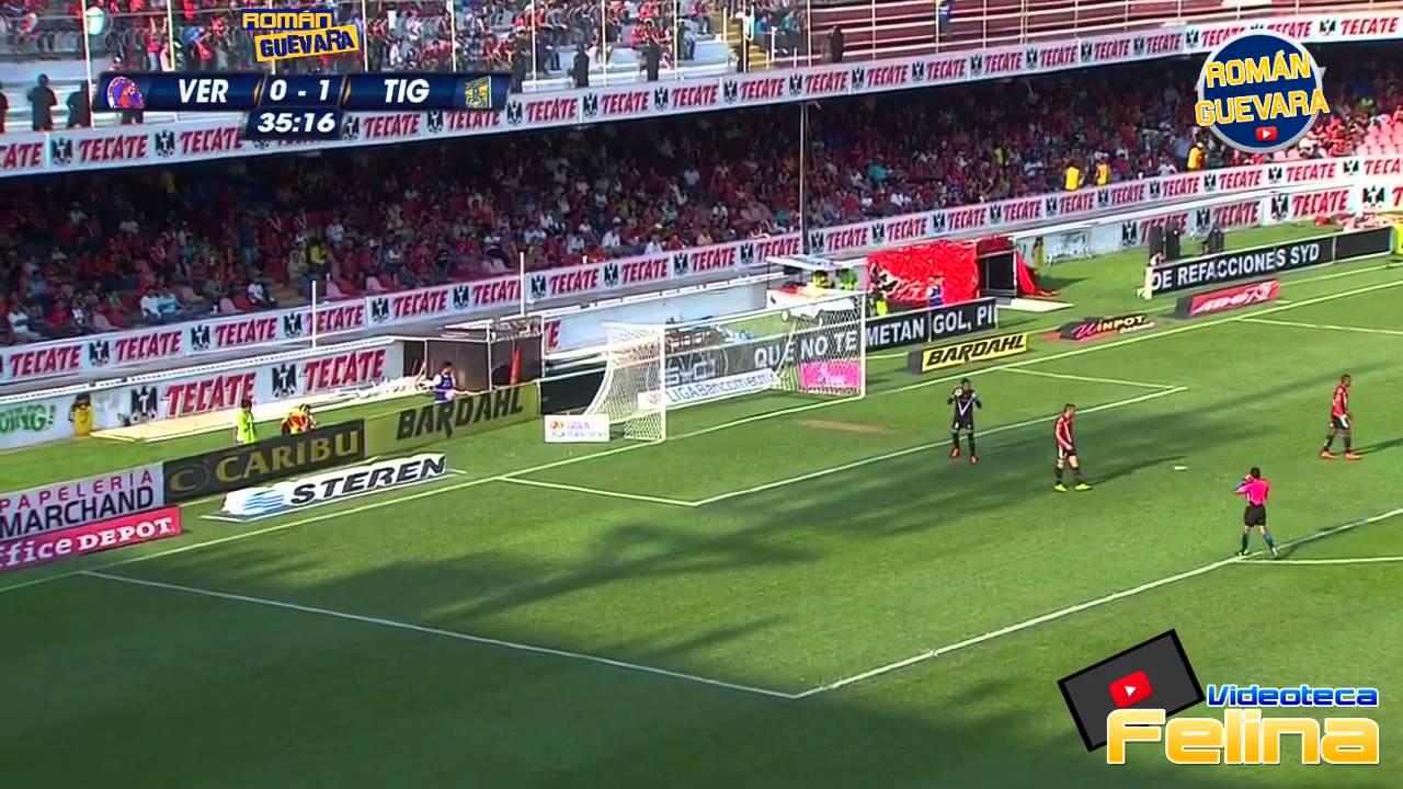 Download Veracruz vs Tigres 0-1 Jornada 12 Apertura 2014 Liga Mx HD - RESUMEN GOLES