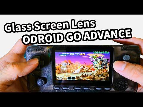 Odroid Go Advance - OGA Replace Glass Screen Lens   Odroid Go Advance - OGA替换玻璃镜面