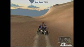 ATV Offroad Fury 3 PlayStation 2 Gameplay - Unintentional