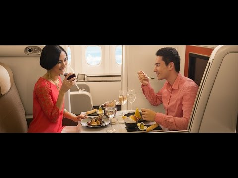 Garuda Indonesia First Class | Jakarta to London Heathrow