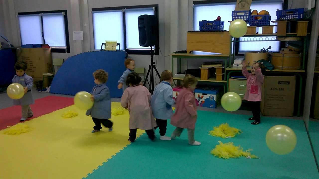 Aula 2 a os psicomotricidad globos laura de miguel for Actividades para jardin infantil