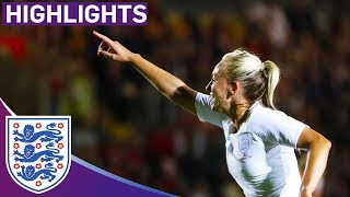 Wales 0-3 England | Lionesses Roar To World Cup Qualification! | World Cup Qualifier
