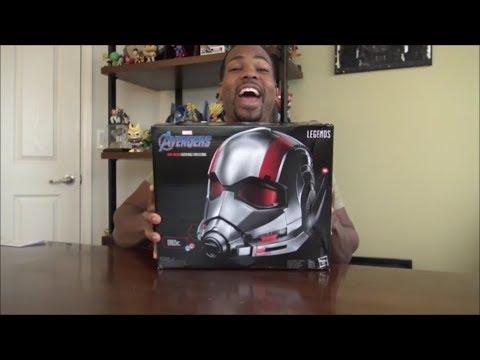 Marvel Legends Series - Ant-Man Helmet - UNBOXING!!!