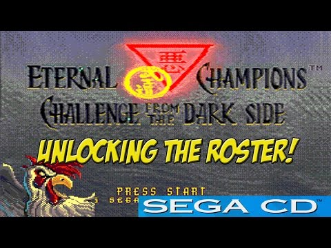 SEGA CD: Eternal Champions! Unlocking the Roster (Rooster?) - YoVideogames