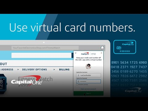 Checking Out With Virtual Card Numbers From Eno   Capital One