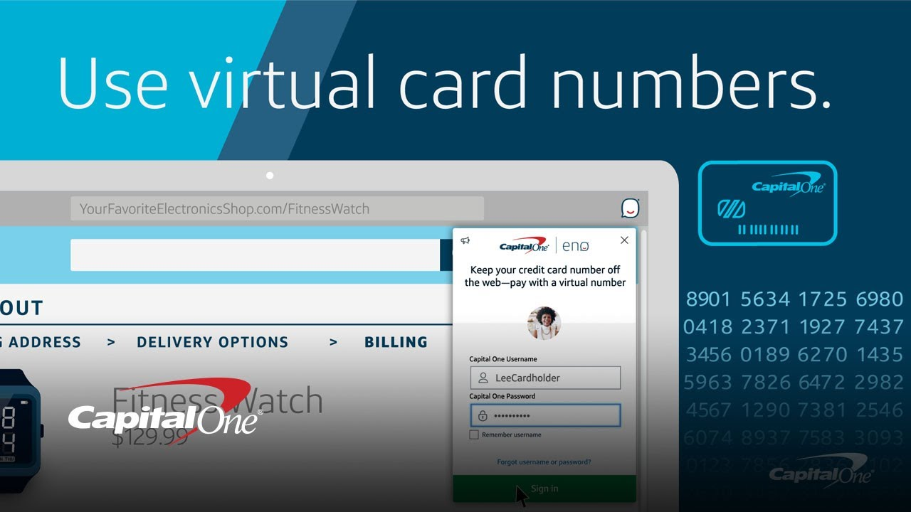 What Is a Virtual Card Number? | Capital One