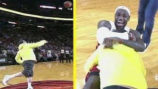 Top 10 NBA Fans Making Half Court Money Shots