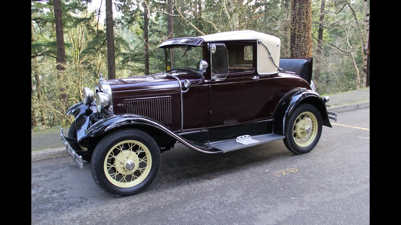 1930 Ford Model A Sport Coupe For Sale in Oregon. Charvet Classic ...