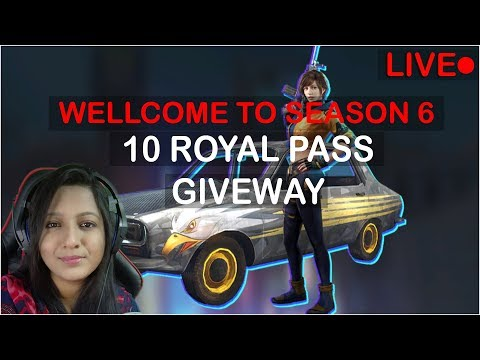 PUBG MOBILE - 10 ROYAL PASS GIVEAWAY - EARN ROSHOGULLA TO WIN RP