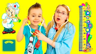 Funny  stories The Doctor Checkup Song + More Nursery Rhymes & Kids Songs