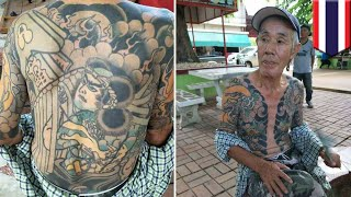 Fugitive yakuza boss Shigeharu Shirai and the meanings behind his tattoos - TomoNews