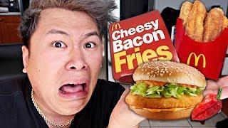McDonald's GHOST PEPPER Burger TASTE TEST! (TRYING MCDONALD'S NEW MENU ITEMS)