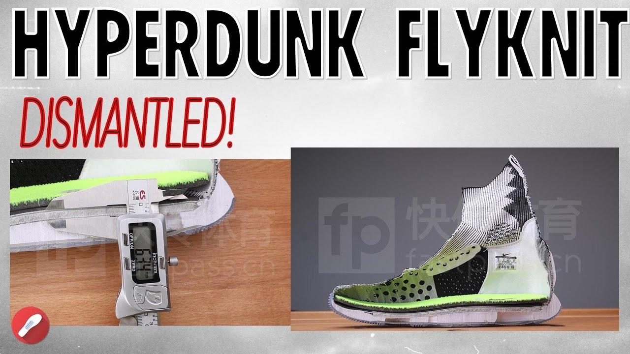 best sneakers 723a2 95a6b Look Inside the DISMANTLED Nike Hyperdunk 2016 Flyknit!