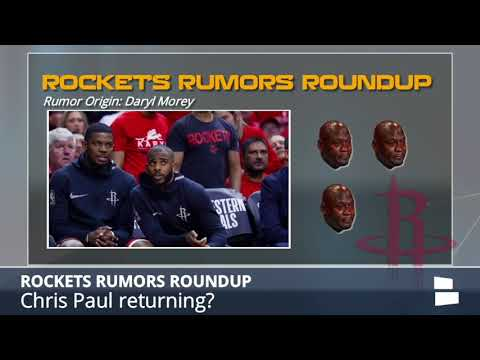 Rockets Rumors: Team Wants To Re-Sign Chris Paul, Big Changes May Be Coming