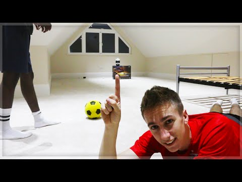 HOMEMADE FOOTBALL CHALLENGE!!