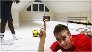 HOMEMADE FOOTBALL CHALLENGE!! thumbnail