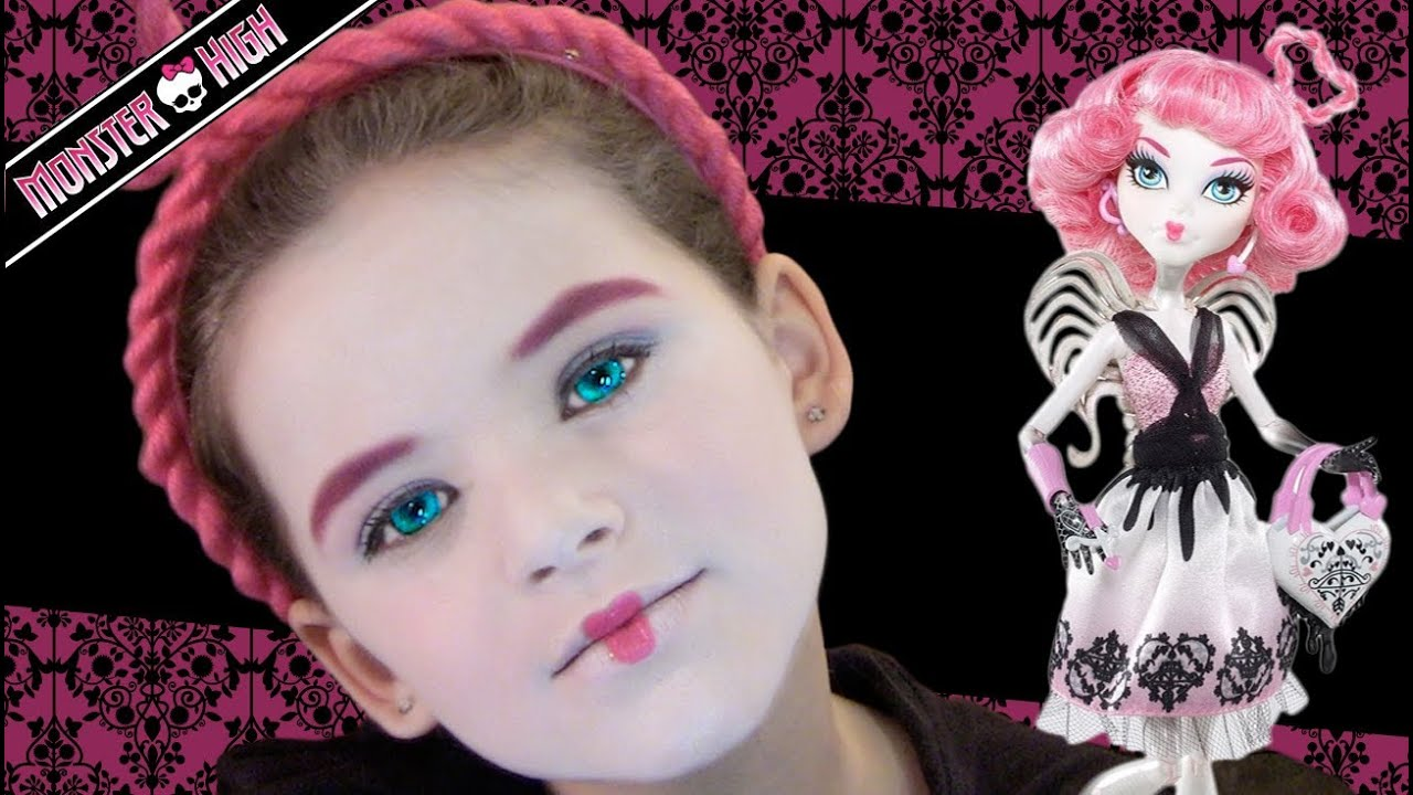 sc 1 st  YouTube & C.A. Cupid Monster High Doll Costume Makeup Tutorial - YouTube