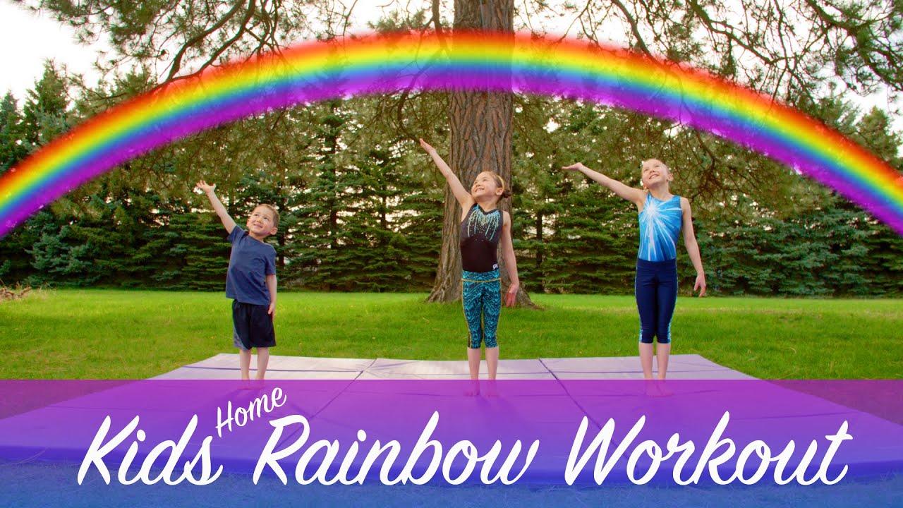 Kids Home Rainbow Workout