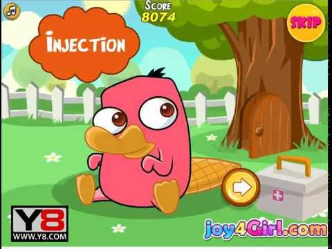 Baby Care Platypus   baby games for NEW english  