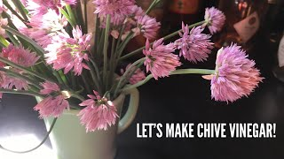 Let's Make Chive Flower Vinegar | EARTHSEED DETROIT