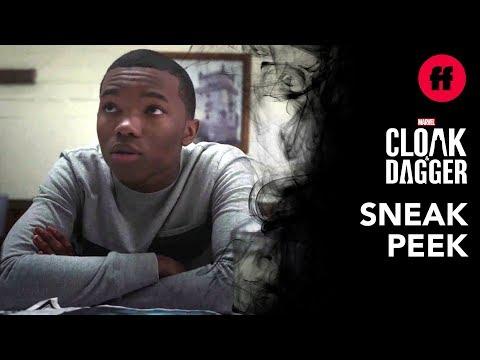 Marvel's Cloak & Dagger Season 2, Episode 9   Sneak Peek: Ty & Solomon Talk About Luke Cage