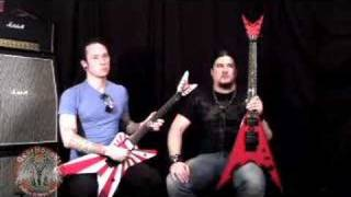 Trivium Matt Heafy - Corey Beaulieu Interview DOA 08 - Part 2