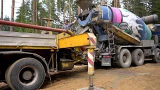 заливка бетона заливка фундамента доставка бетона строительство бетонный завод   крутые ребята(, 2015-09-19T09:32:52.000Z)