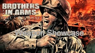 Brothers in Arms HH: Weapons Shown