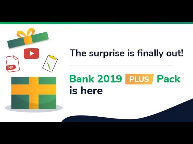 Get ready for the surprise for year 2019!