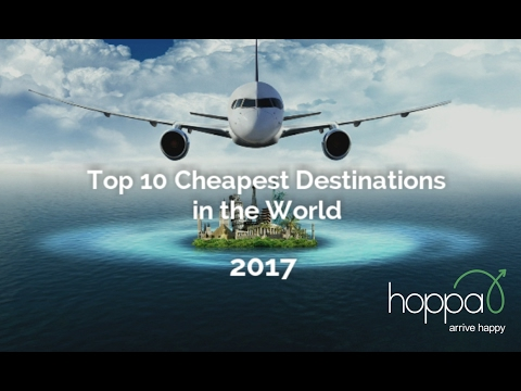 Top 10 Cheapest Holiday Destinations of 2017 | hoppa