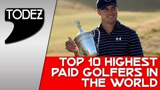 Top 10 highest paid golfers in the world