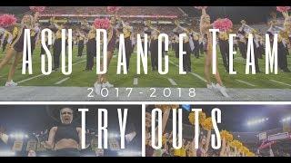 Arizona State University Dance Team - Auditions 2018