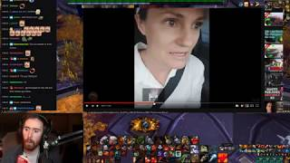 """Asmongold Watches """"Being Real About World of Warcraft & Blizzard Outrage"""" by Bellular"""