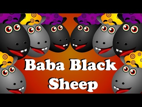 Baba Black Sheep - Nursery Rhyme With Lyrics-ba ba black sheep