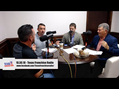 10.30.18 - Texas Franchise Radio