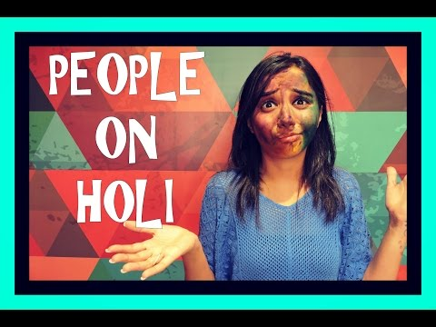 Types of People You Meet On Holi | MostlySane | Latest Funny Video