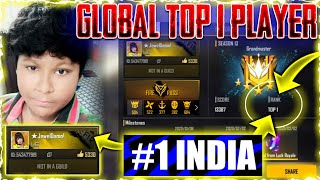 Impossible Moments Freefire �|| Top 1 Global 13300 Rank P...