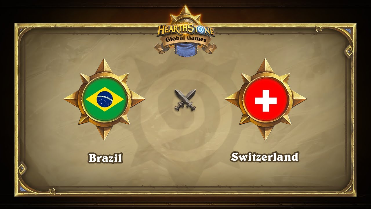 Бразилия vs Швейцария | Brazil vs Switzerland | Hearthstone Global Games (14.06.2017)