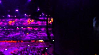 Robbie Williams - Ziggo Dome - 04-05-2014 - Two minute silence