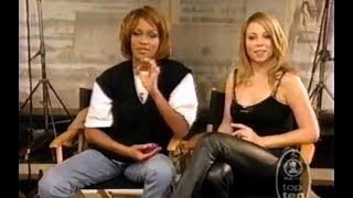 WHITNEY HOUSTON on MARIAH CAREY — Diva on Diva
