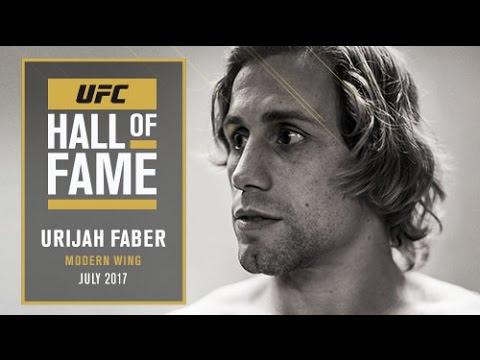 Urijah Faber Joins the UFC Hall of Fame