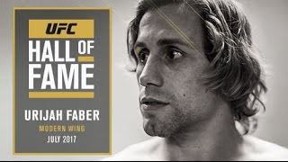Urijah Faber Joins the UFC Hall of Fame